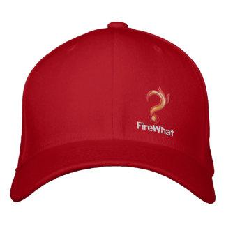FireWhat geeigneter Hut mit weißem Logo