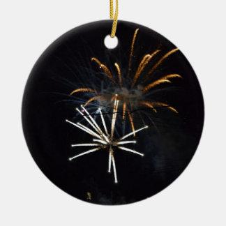 fireworks.JPG Rundes Keramik Ornament