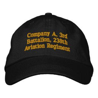 Firma A, 3. Bataillon, 238. Luftfahrt-Regiment Bestickte Baseballkappe