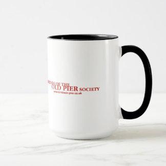 Firmenzeichen u. URL-Rot Tasse