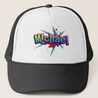 First name Michael with ! as i Truckerkappe