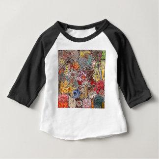 Fisch Clown und Anemonen Baby T-shirt
