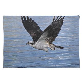 Fisch-Eagleosprey-Natur-Fotografie Stofftischset