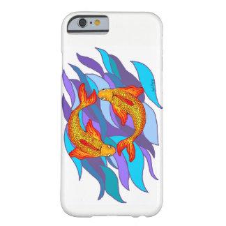 Fisch-Fisch-Wasser-Tierkreis-Zeichen iPhone Fall Barely There iPhone 6 Hülle