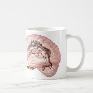Fisch-Gehirn Kaffeetasse