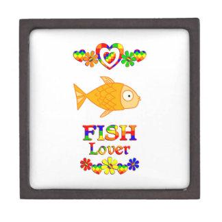 Fisch-Liebhaber Schmuckkiste