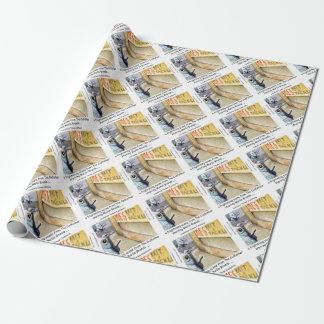 Fisch-Mafia-lustige Geschenke Rick London Geschenkpapier