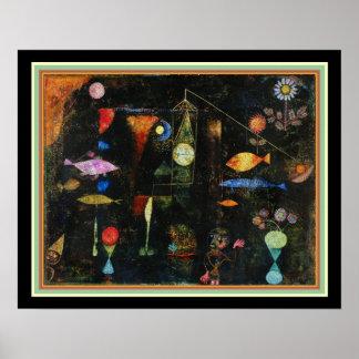 """""""Fisch-Magie"""" durch Paul Klee Poster"""