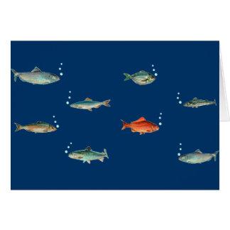 Fisch-Muster Karte
