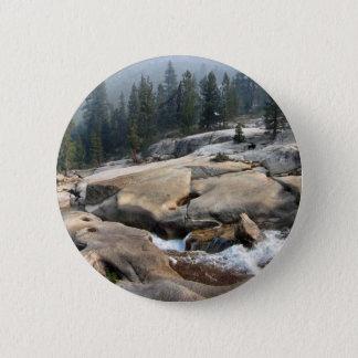 Fisch-Nebenfluss-Wasserfälle im Kaskaden-Tal - Runder Button 5,1 Cm