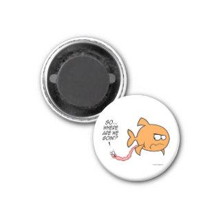 Fisch-pfui runde Magneten Runder Magnet 2,5 Cm