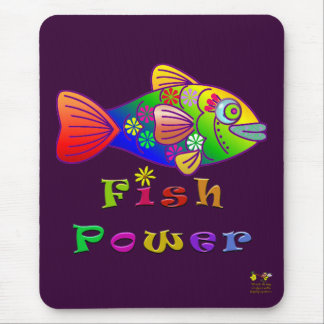 Fisch-Power Mauspad