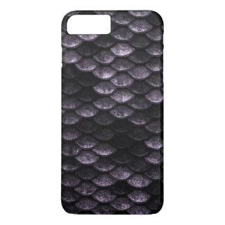 Fisch-Skala-Muster-Deep Purple-Schatten iPhone 8 Plus/7 Plus Hülle