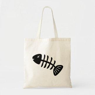 Fisch-Skelett Tragetasche