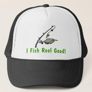 Fisch-Spule gut Truckerkappe