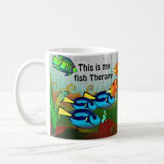Fisch-Therapie Kaffeetasse