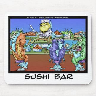Fisch-Treffen-Markt-ALIAS Sushi-Bar-lustige Mousepad