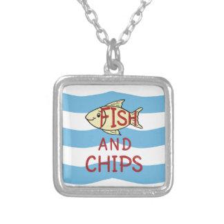 Fisch und 2 versilberte kette