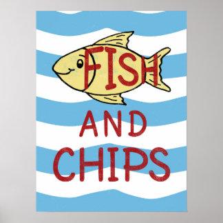 Fisch und poster