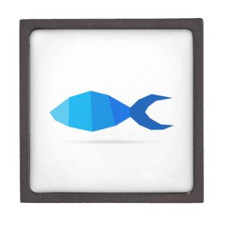 Fischblau Kiste