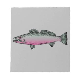 Fische 2 notizblock