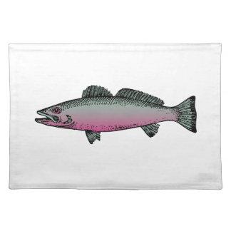 Fische 2 stofftischset