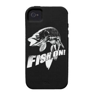 Fische auf moschusartigem iPhone 4 hülle