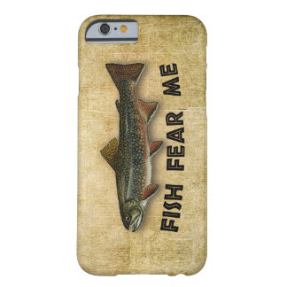 Fische befürchten mich lustiges Fischen Barely There iPhone 6 Hülle