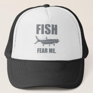 Fische befürchten mich truckerkappe
