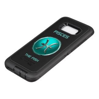 Fische - das Fisch-Horoskop-Zeichen OtterBox Defender Samsung Galaxy S8+ Hülle
