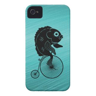 Fische, die ein Fahrrad reiten iPhone 4 Hüllen