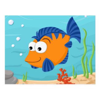 Fische für Kinder Postkarten