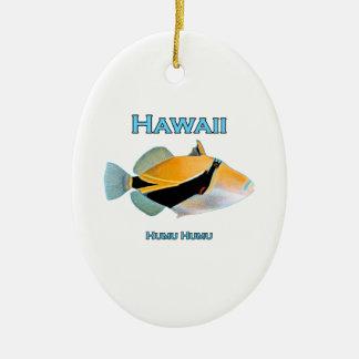 Fische Hawaiis Humu Humu Keramik Ornament