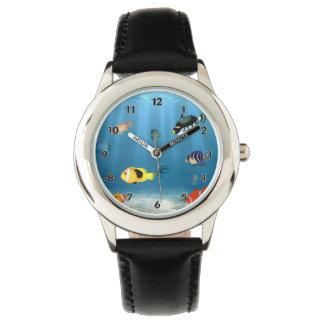 Fische im Ozean Armbanduhr