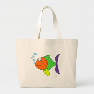 Fische Jumbo Stoffbeutel