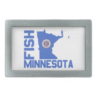 Fische Minnesota Rechteckige Gürtelschnalle