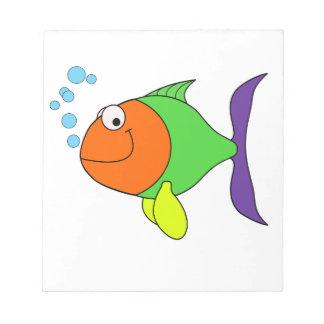 Fische Notizblock