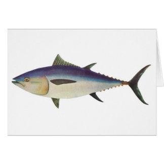 Fische - südlicher Bluefin-Thunfisch - Thunnus Karte