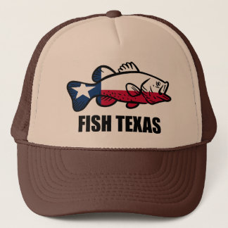 Fische Texas Truckerkappe