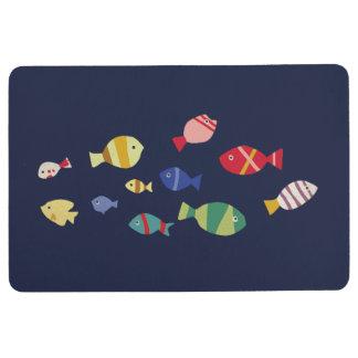 Fische überall bodenmatte