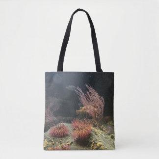 Fische und Seeanemone Tasche