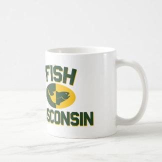 Fische Wisconsin Kaffeetasse