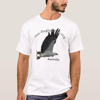Fischen erwachsener Meer-Eagle T - Shirt