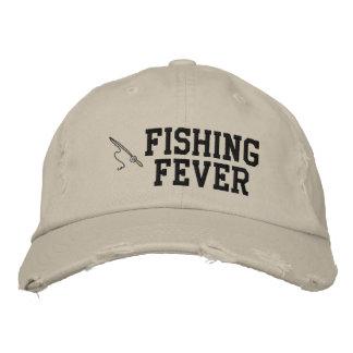 Fischen-Fieber gestickter Hut Baseballcap