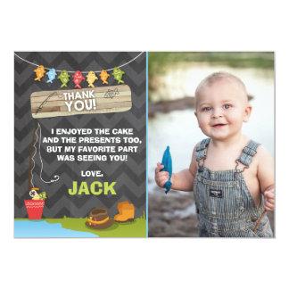 Fischen-Geburtstag danken Ihnen, Fischen-Party zu Karte