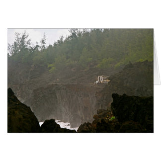 Fischen-Haus am Wai ` anapanapa Staats-Park, Maui Karte