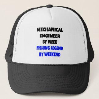 Fischen-Legenden-Maschinenbauingenieur Truckerkappe