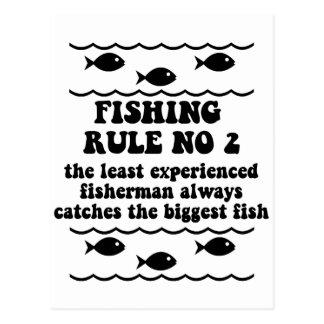 Fischen-Regel keine 2 Postkarten