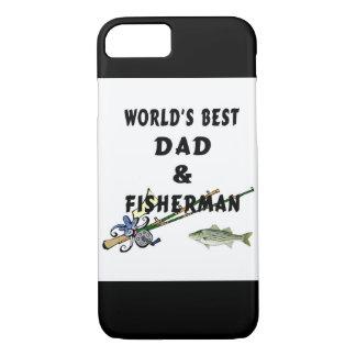 Fischen-Vater-bester Vati iPhone 7 Hülle