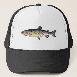 Fischenhut - Tahoe Forelle-Fisch Truckerkappe